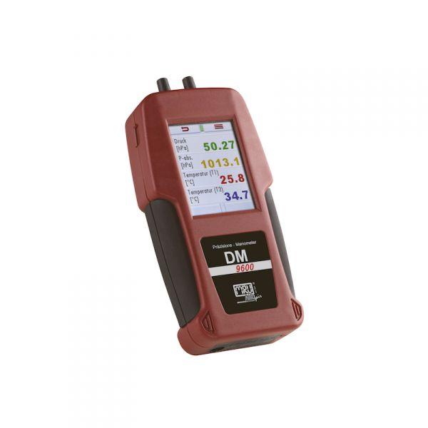 manometro differenziale multifunzione prova tenuta impianto UNI 11137 UNI 7129