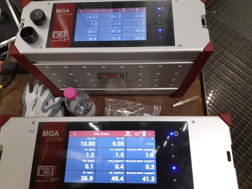Validazione analizzatori P-AMS certificazione EN 15267-4