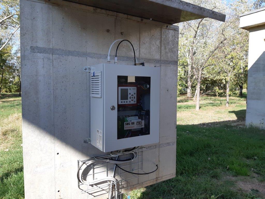 Biogas su impianto depurazione acque