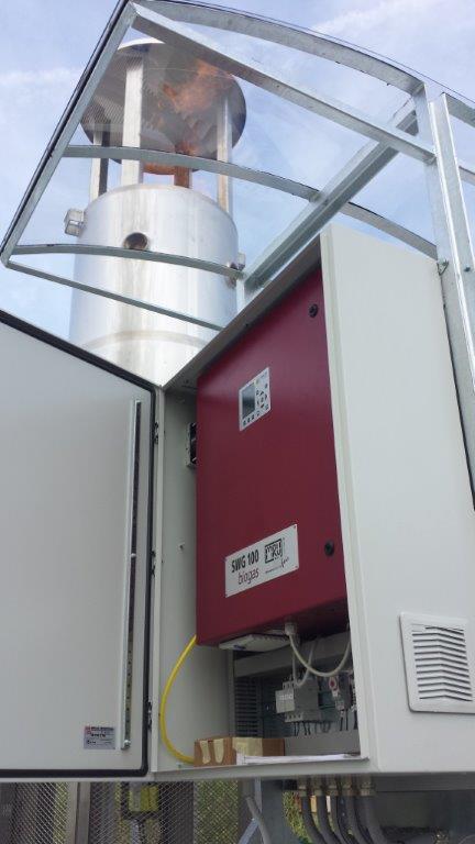 Analisi biogas in continuo in discarica